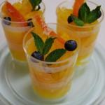 オレンジのジュレ
