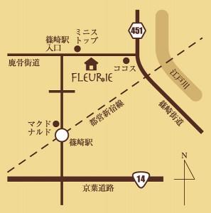 東京都江戸川区篠崎町1-167-7 都営新宿線篠崎駅より、徒歩7分~